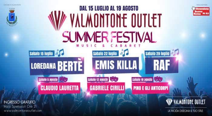 Locandina Valmontone Summer Festival
