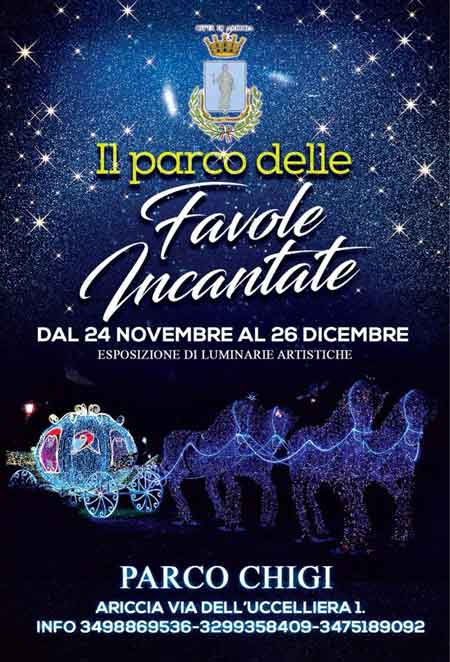 Luminarie Ariccia 2018