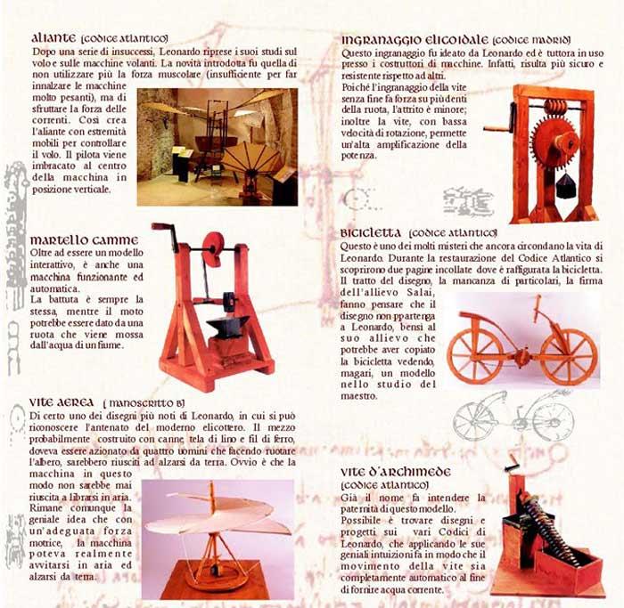macchine da Vinci Sora