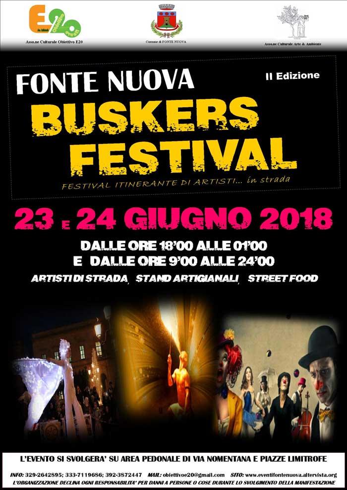 Manifesto Festival Fonte Nuova