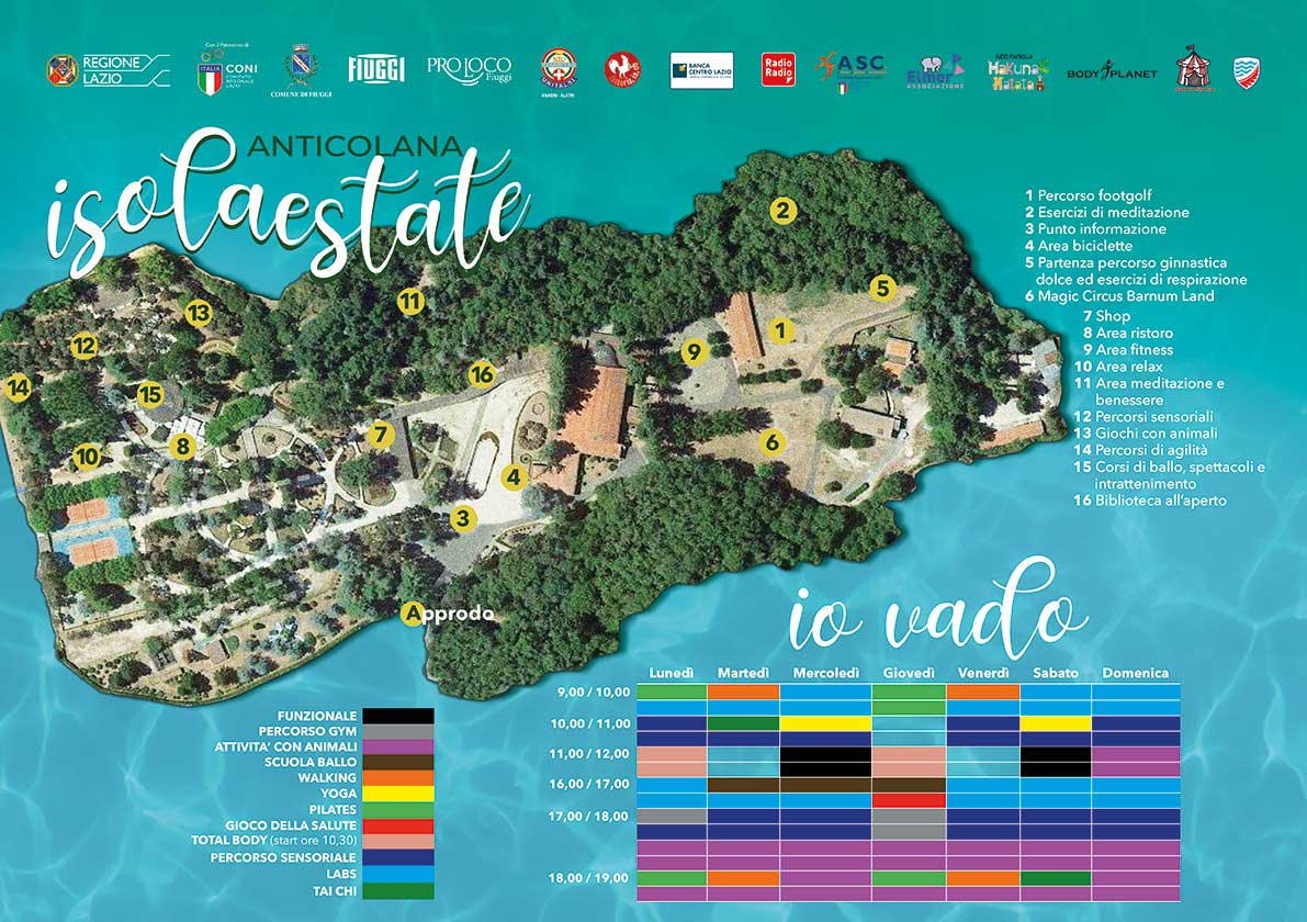 IsolaEstate Fiuggi Mappa Fonte
