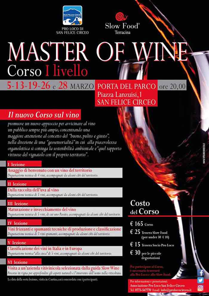 Master Of Wine San Felice Circeo