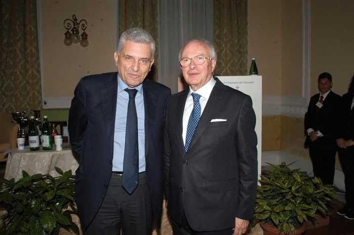 Maurizio Stirpe e Pietro Martini