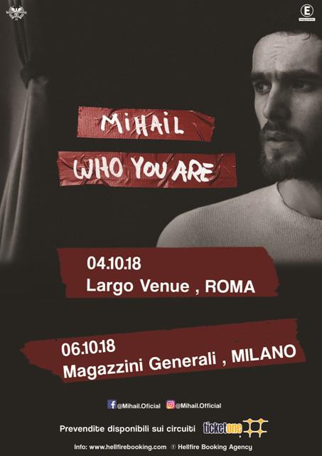 Mihail Largo Venue Roma Locandina 2018