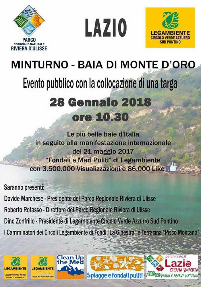 Minturno Legambiente Baia Monte D'oro
