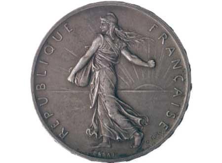 Moneta Francese Bellezza Ciociara