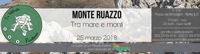 Monte Ruazzo Tra mare e monti