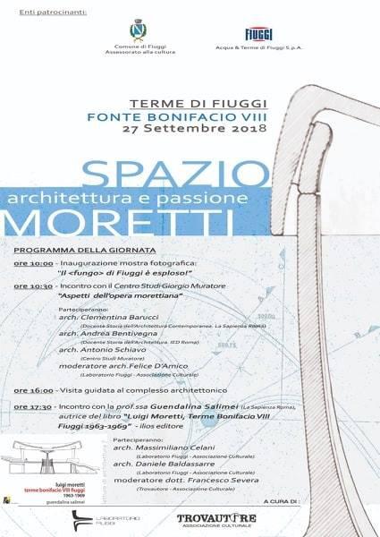 Moretti Locandina Fiuggi 2018
