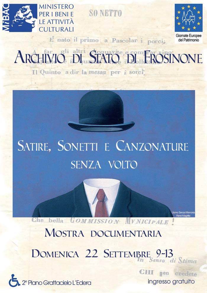 Mostra documentaria a Frosinone