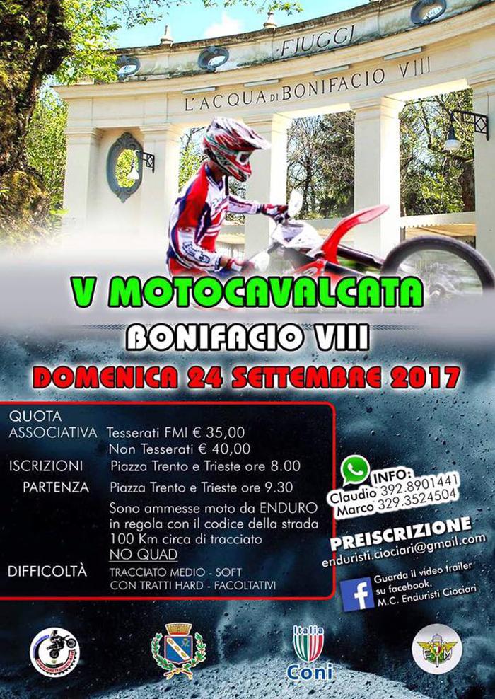 Motocavalcata Bonifacio Fiuggi Quinta Edizione