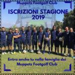Iscrizioni stagione 2019 Muppets FootGolf Club