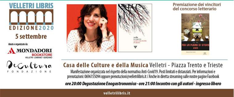 Nadia Terranova e Premiazione Concorso Letterario Velletri Libris