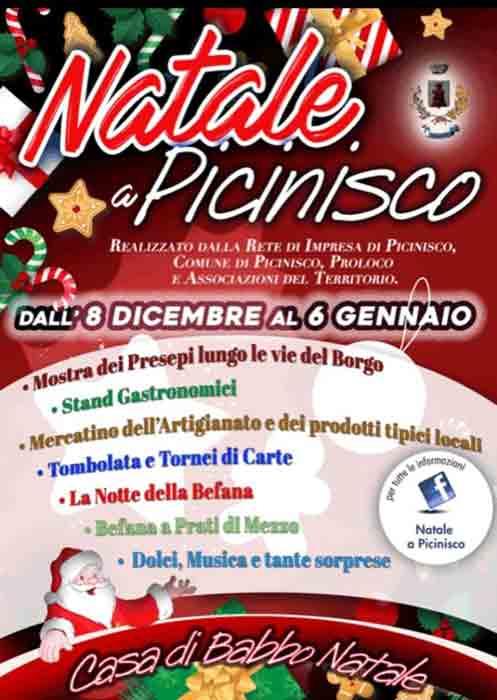 Natale a Picinisco Locandina