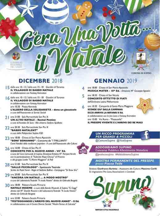 Natale a Supino