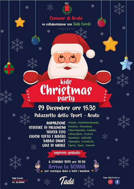 Natale Acuto Kids