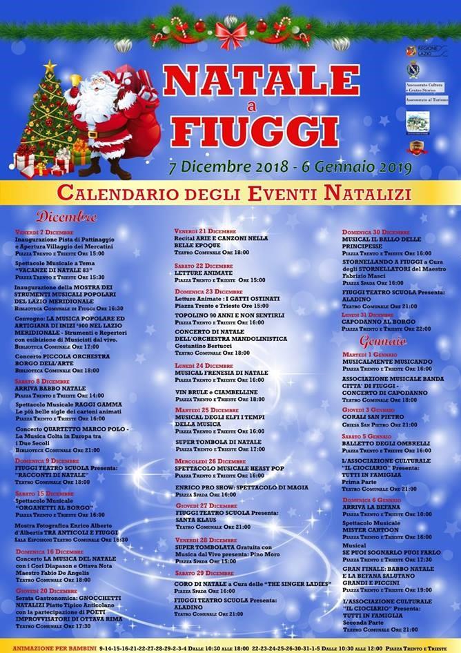 Natale a Fiuggi 2018