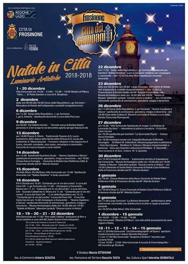 Natale Frosinone 2018