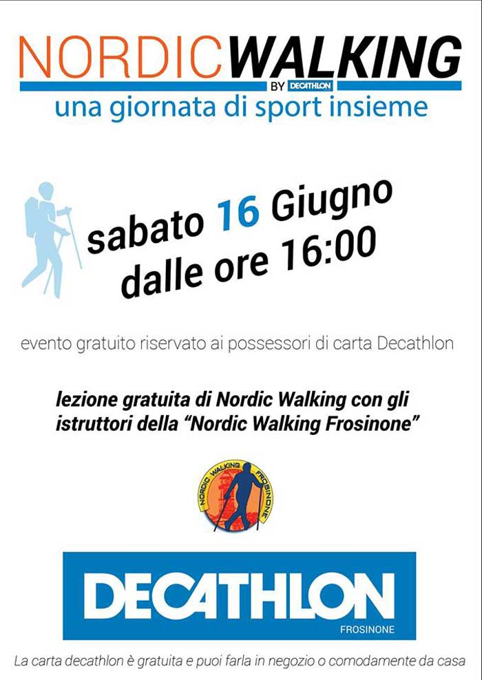 Nordic Walking Decathlon Frosinone