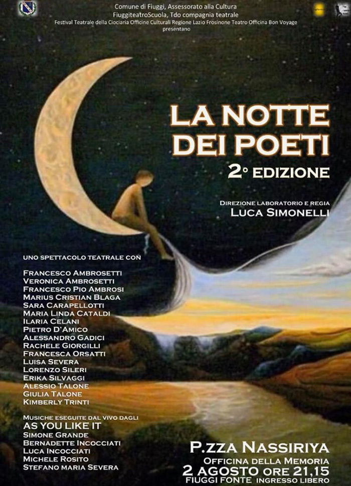 notte dei poeti bis