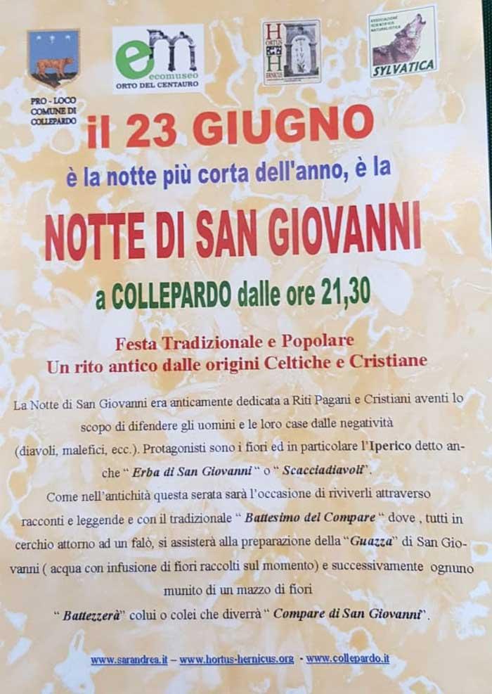 Notte San Giovanni 2018