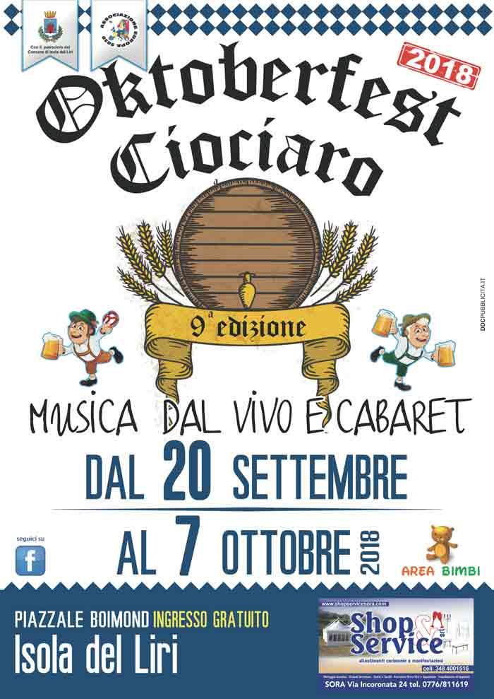 Oktoberfest Ciociaro Locandina 2018