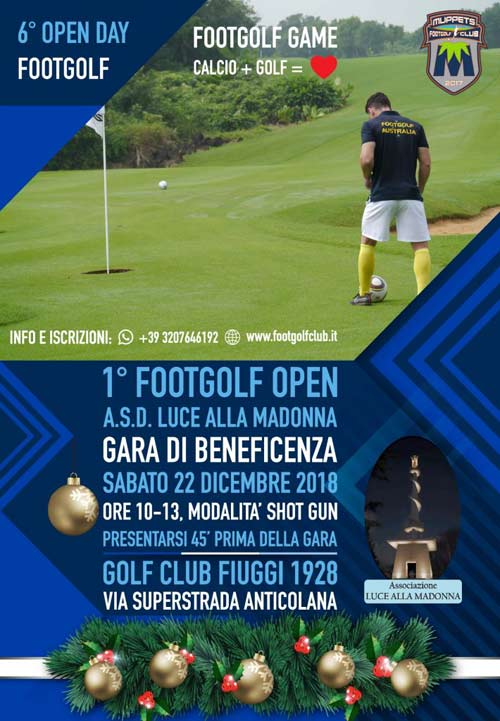 Open Day Footgolf 2018