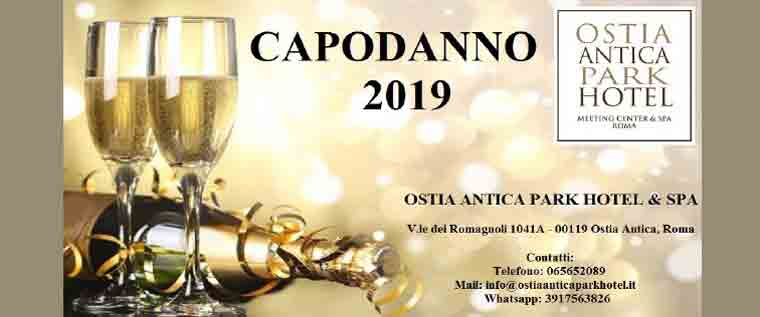 Capodanno 2019 all'Ostia Antica Park Hotel & Spa