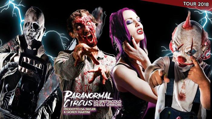 Paranormal Circus Frosinone Locandina
