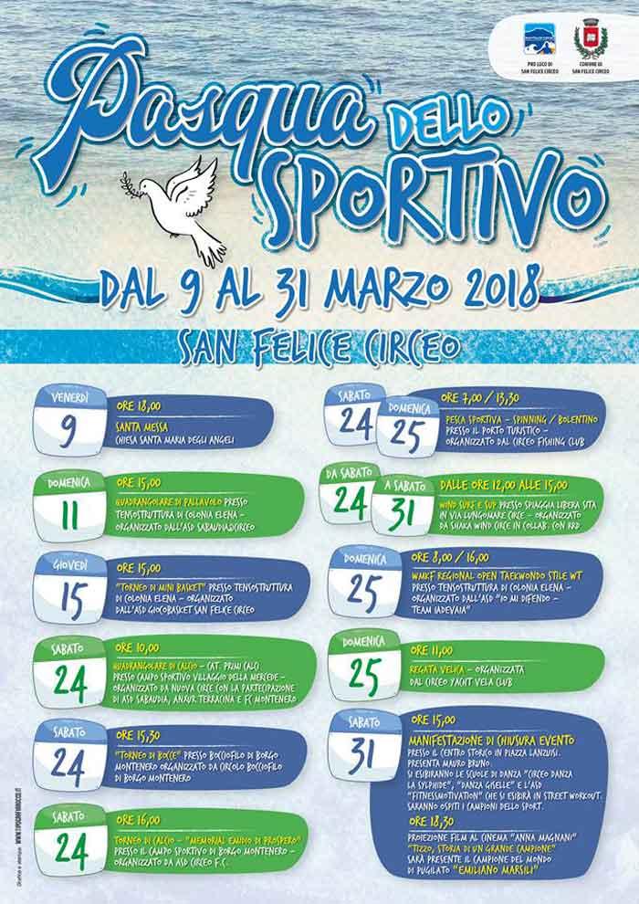 Pasqua dello sportivo San Felice Circeo