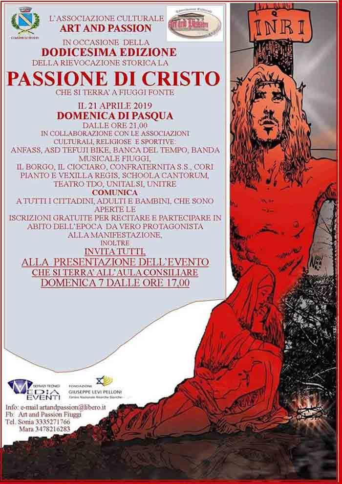 passione di Cristo Fiuggi