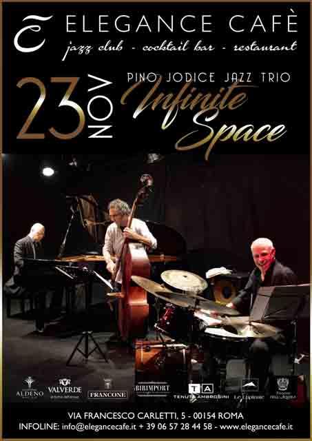Pino Jodice Jazz Trio Elegance Cafè