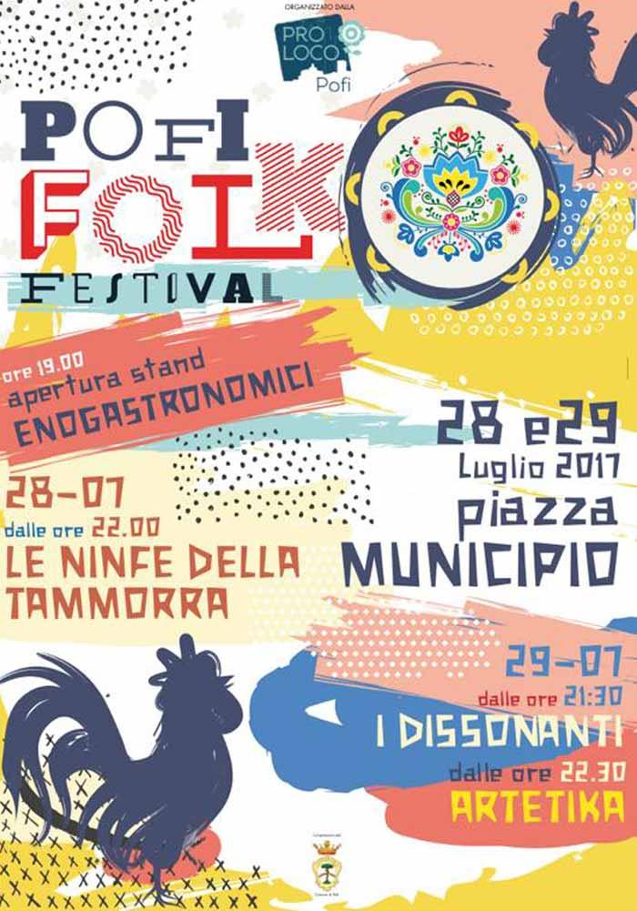 Pofi Folk Festival Programma 2017