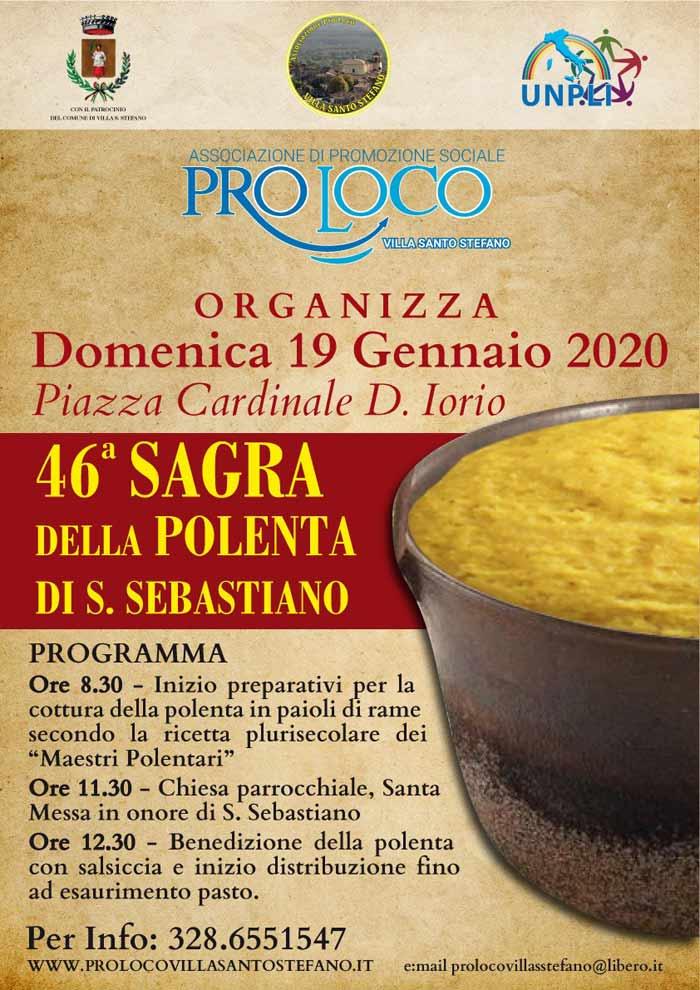 La polenta a Villa Santo Stefano
