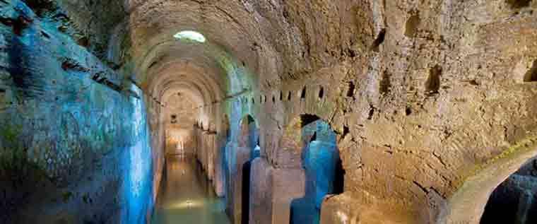 Ponza Lunata La Visita Allantica Cisterna Romana