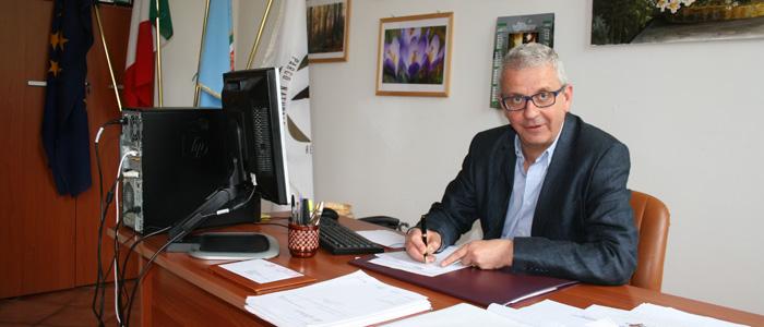 Presidente dell' Ente Parco Monti Simbruini Enrico Panzini
