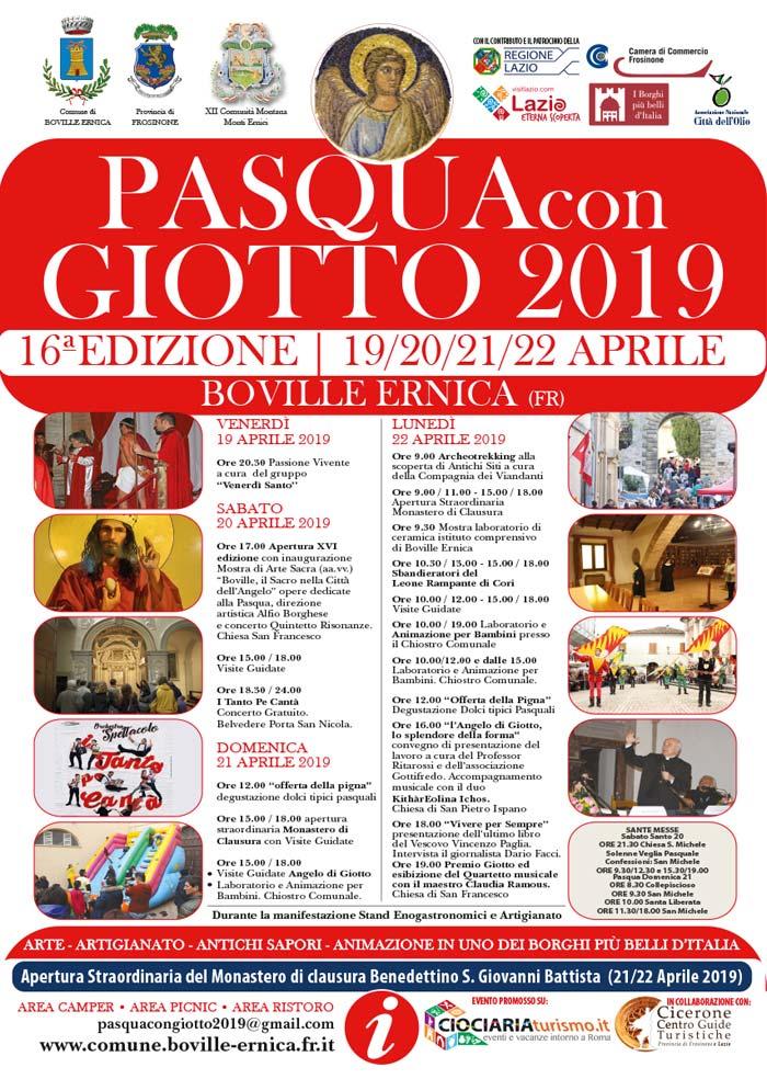 programma Pasqua Giotto