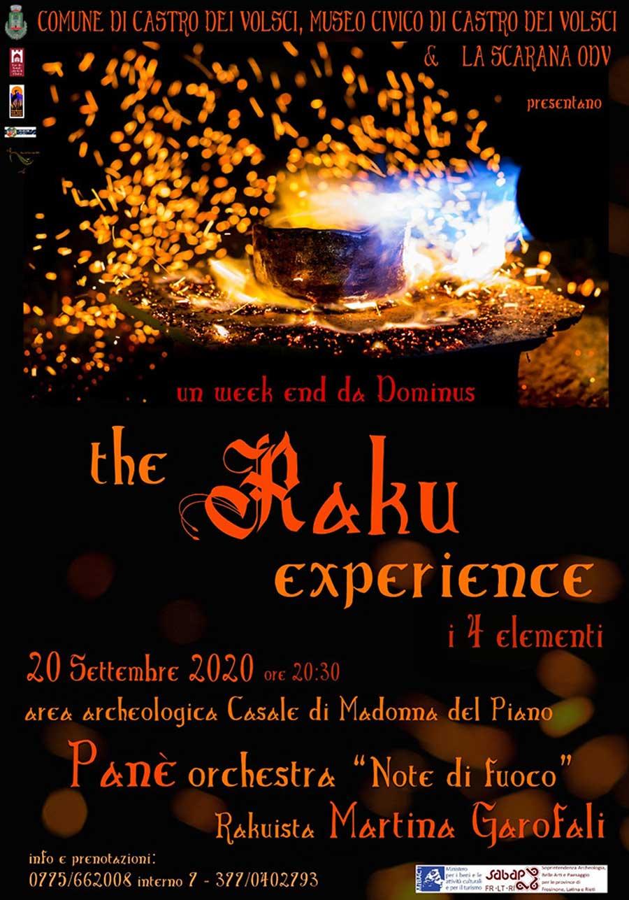 raku experience 2020