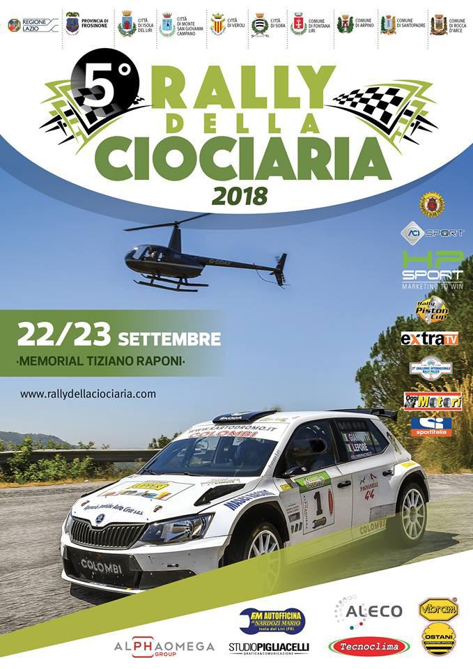 Rally della Capitale Locandina 2018