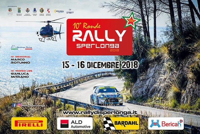 Rally di Sperlonga Locandina