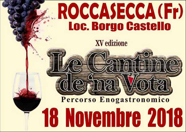 Roccasecca Le Cantine DeNa Vota Novembre 2018