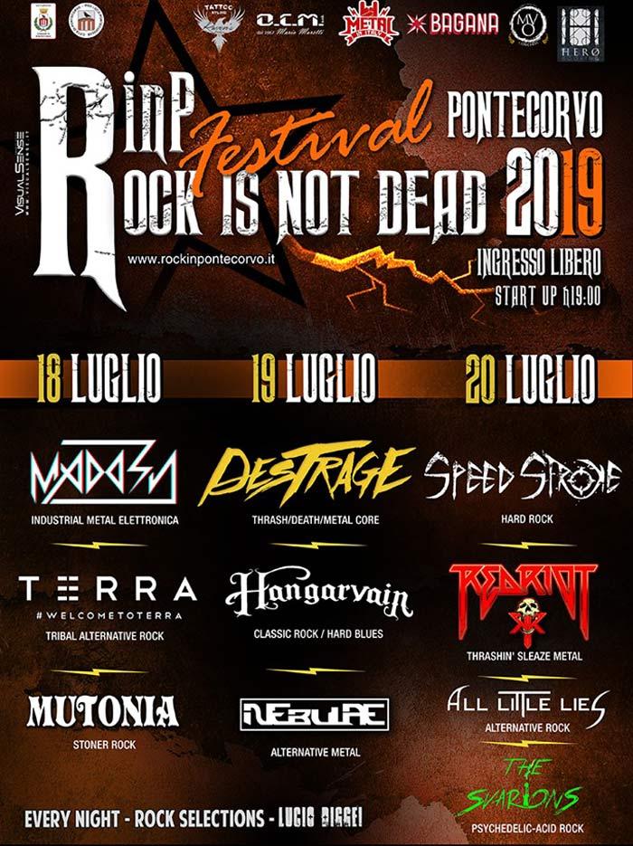 rock in Pontecorvo locandina