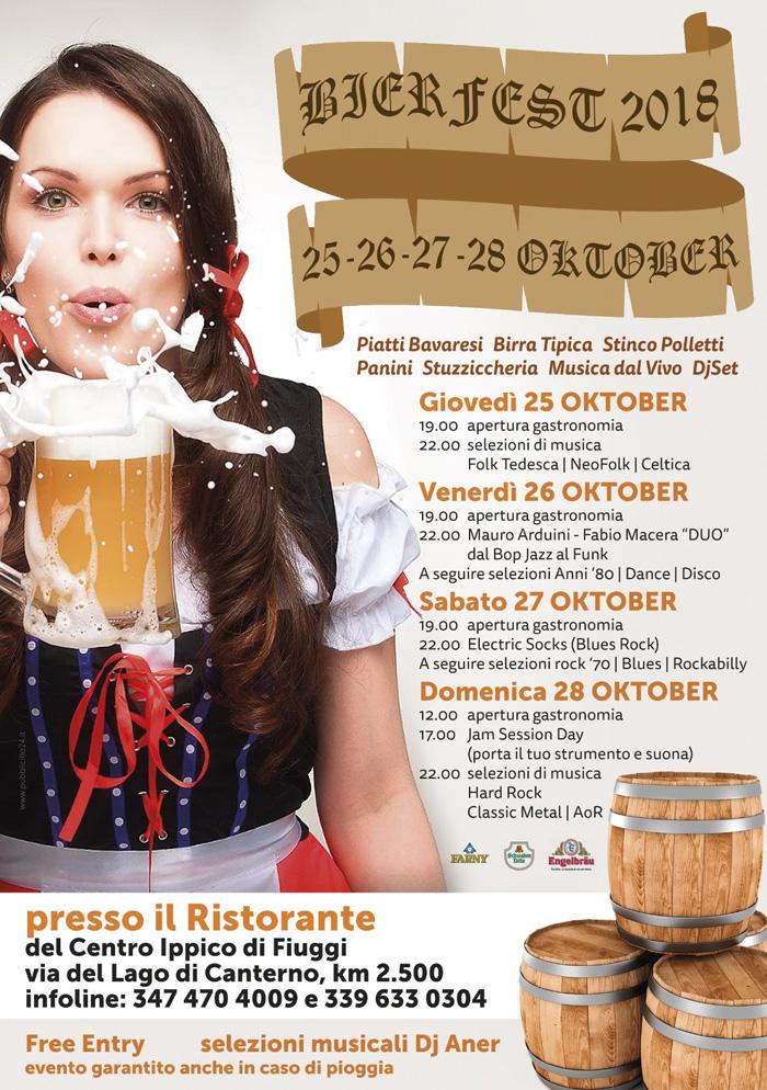 Sagra della Birra Bavarese Locandina