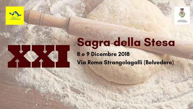Sagra Della Stesa Strangolagalli 2018