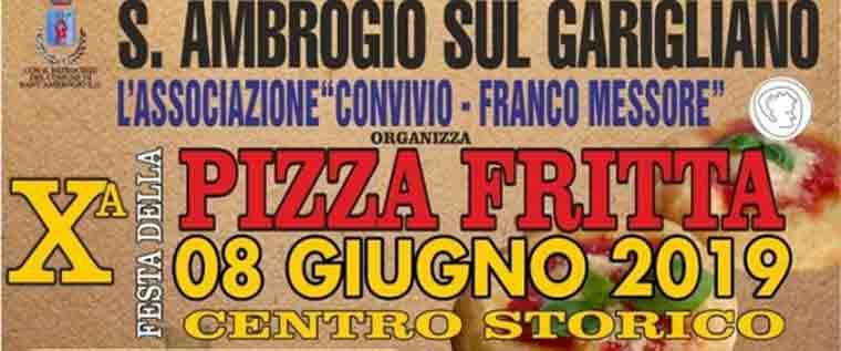 Festa della pizza fritta a Sant'Ambrogio sul Garigliano