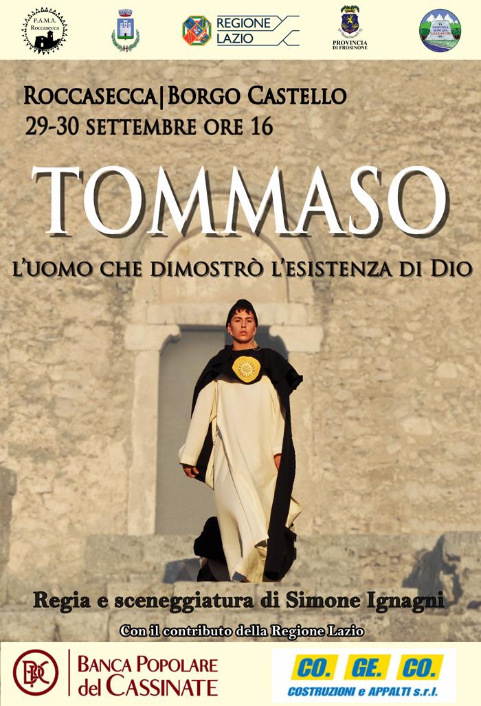 San Tommaso Roccasecca Locandina 2018