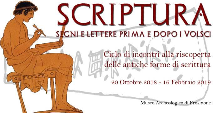 Scrittura Segni e Lettere Prima e Dopo i Volsci