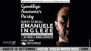 Sora Goodbay Summer Party Locandina