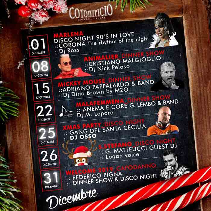 Speciale Dicembre Cotonificio Locandina