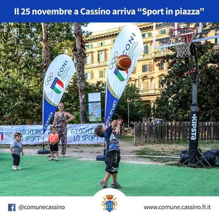 Sport in Piazza Locandina