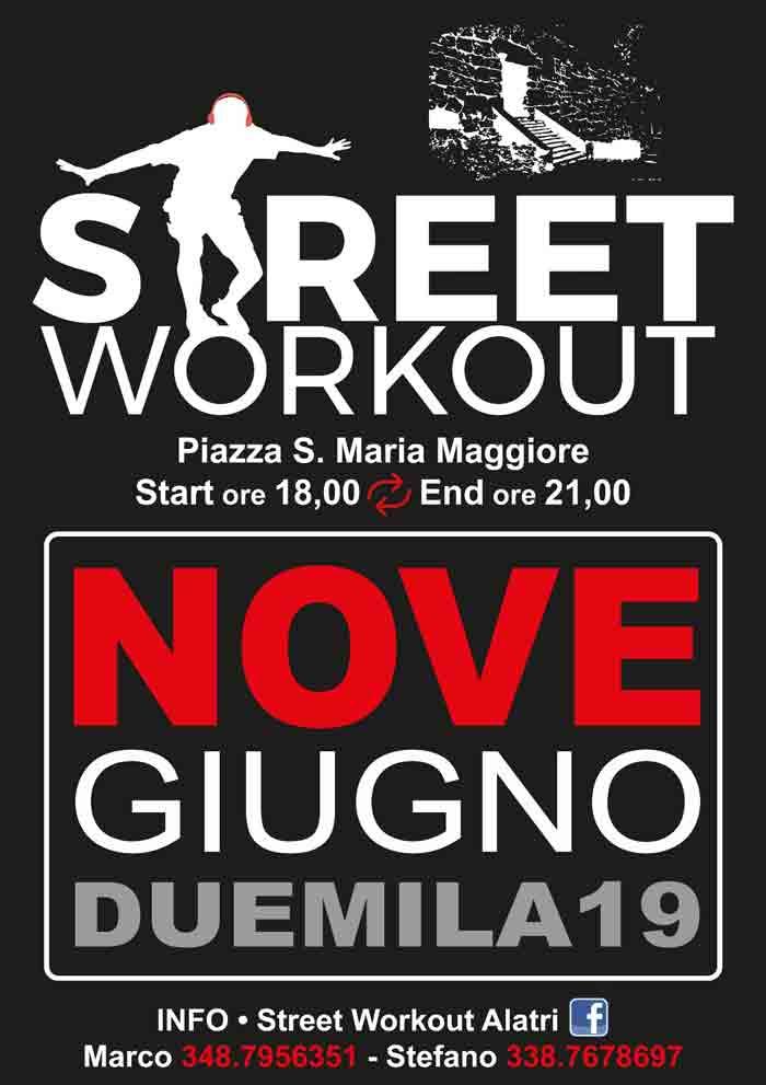 street workout Alatri